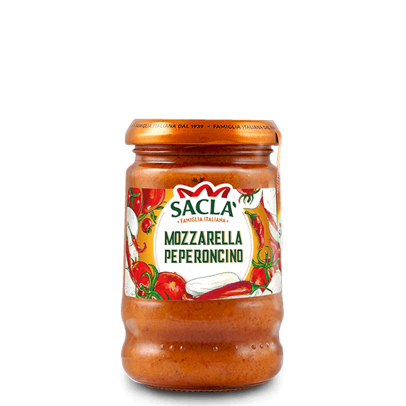 Mozzarella-Chilipastakastike