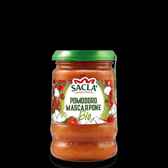 Luomutomaattia ja Mascarpone-pastakastiketta
