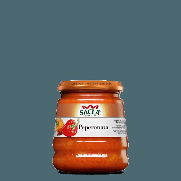 Peperonata – Paprika sipulilla ja tomaatilla